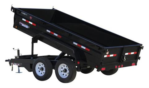 2021 PJ Trailers 72 in. Tandem Axle Dump (D3) 12 ft. in Acampo, California