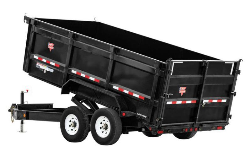 2021 PJ Trailers 83 in. Low-Pro High Side Dump (DM) 16 ft. in Elk Grove, California