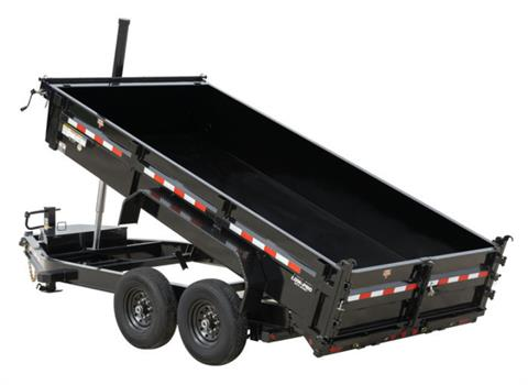 2021 PJ Trailers 83 in. Pro-Lift Dump (DT) in Kansas City, Kansas