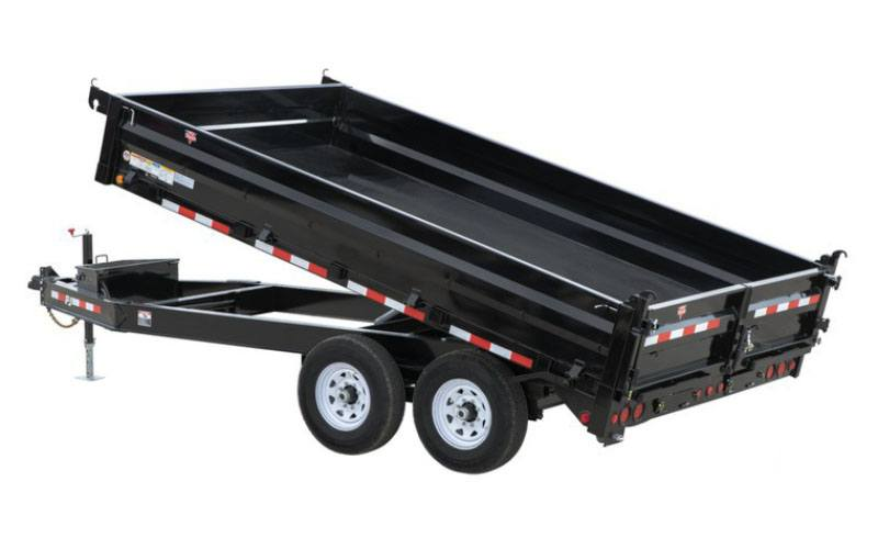 2021 PJ Trailers 96 in. Deckover Dump (D8) 16 ft. in Kansas City, Kansas