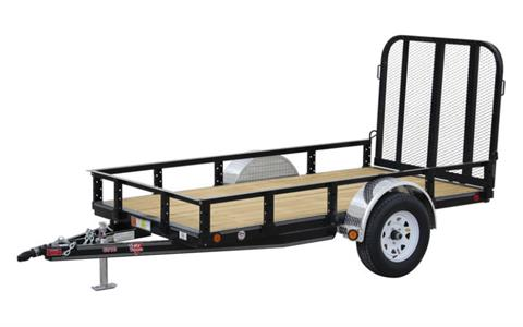 2021 PJ Trailers 60 in. Single Axle Channel Utility (U6) 8 ft. in Montezuma, Kansas
