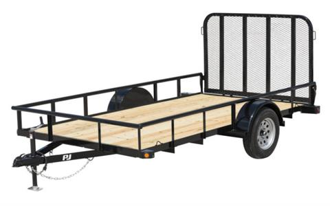 2021 PJ Trailers 77 in. Angle Utility (E7) 14 ft. in Kansas City, Kansas