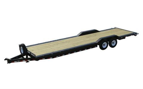 2021 PJ Trailers 8 in. Channel Super-Wide (B8) 30 ft. in Hillsboro, Wisconsin
