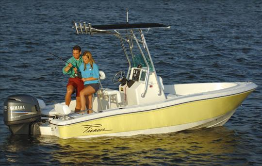 2015 Pioneer 175 Bay Sport in Stuart, Florida