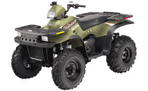 2001 Polaris Sportsman 500 H.O. 1
