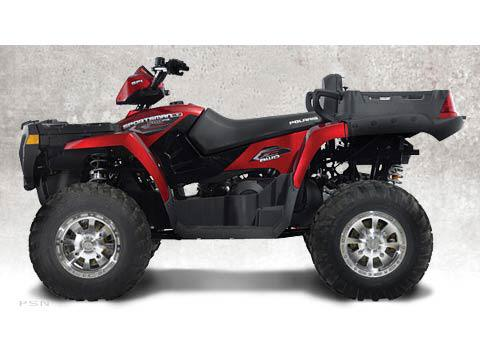 2007 Sunset Red Sportsman 500 X2