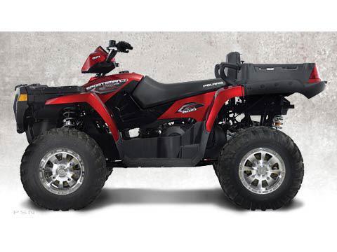 2007 Sunset Red Sportsman 500 X2