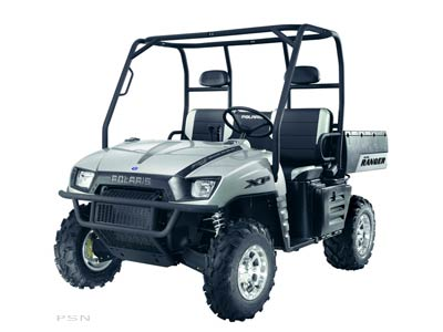 2008 Polaris Ranger XP Turbo Silver Limited Edition in Caroline, Wisconsin