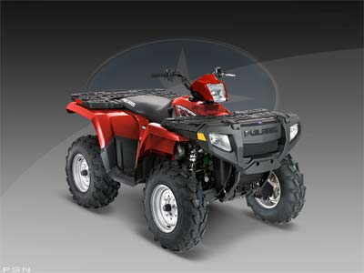 2009 Polaris Sportsman 500 H.O. 1