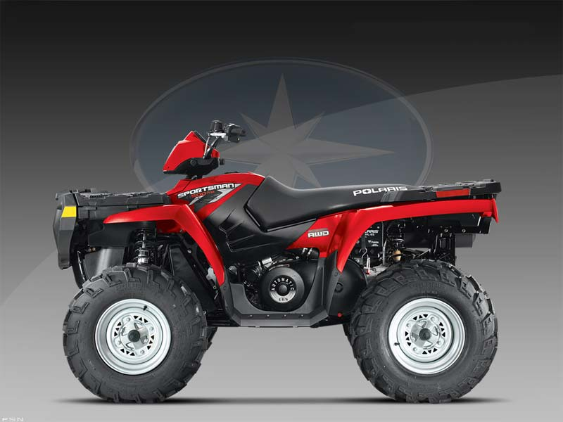 2009 Polaris Sportsman 500 H.O. 2