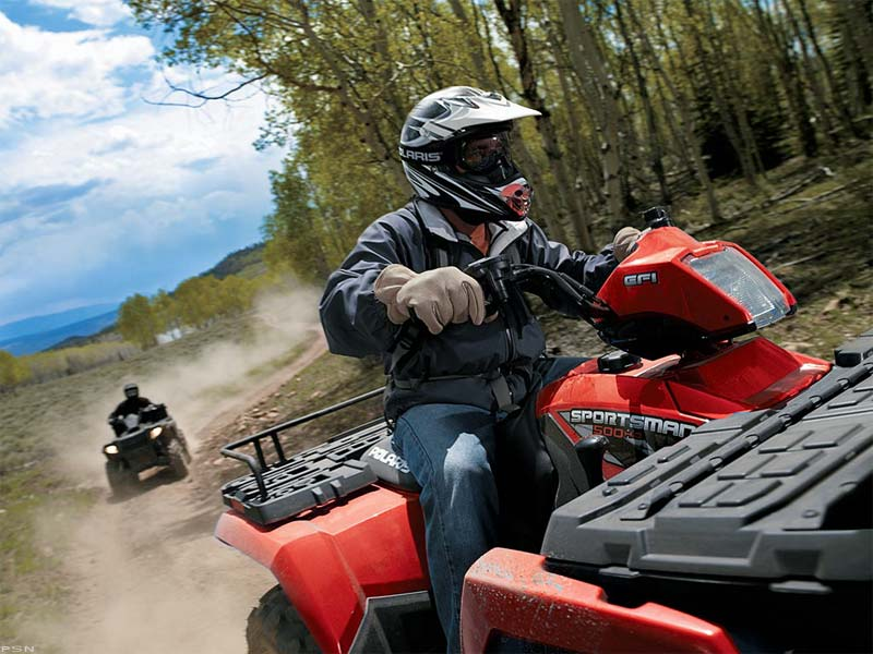 2009 Polaris Sportsman 500 H.O. 3