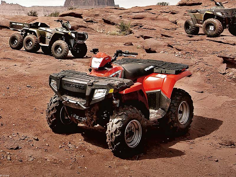 2009 Polaris Sportsman 500 H.O. 4