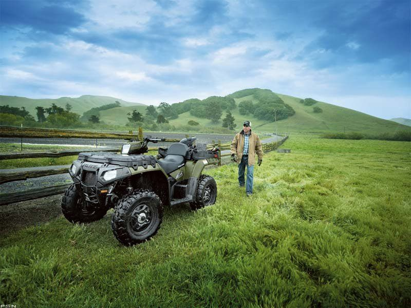 2010 Polaris Sportsman® 550 X2 in Oak Creek, Wisconsin - Photo 12