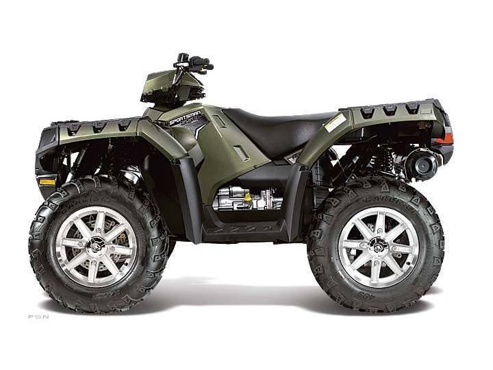 2012 Polaris Sportsman® 550 in Hancock, Wisconsin