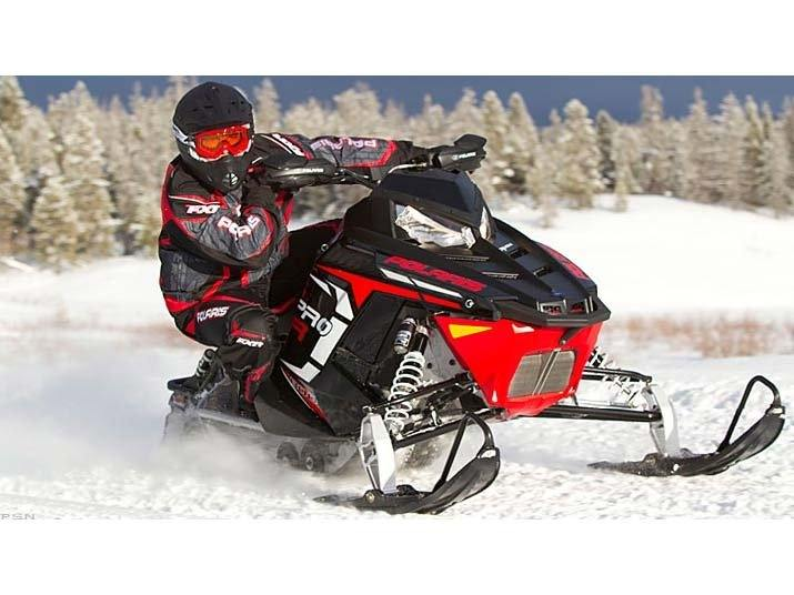 2012 Polaris 800 Rush PRO-R ES SC Orange in Union Grove, Wisconsin