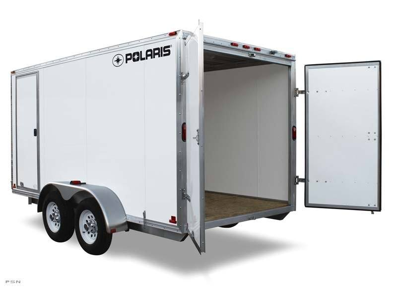 2012 Polaris Enclosed Cargo 5x8 in Kirksville, Missouri