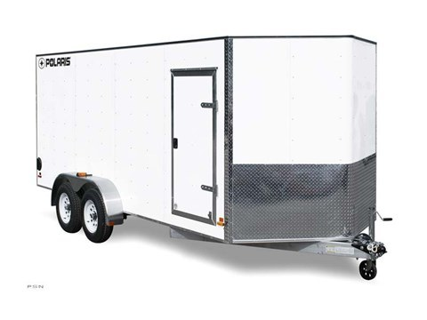 2012 Polaris Enclosed Cargo 7x16S in Milford, New Hampshire