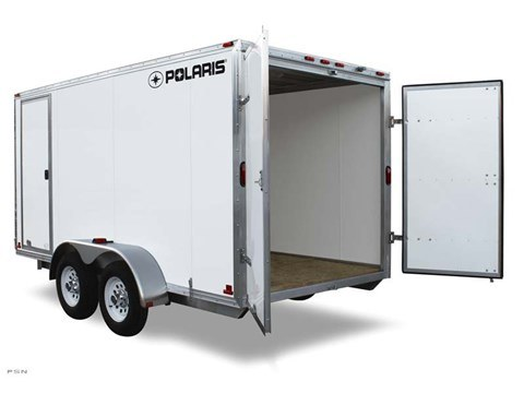 2012 Polaris Enclosed Cargo 8.5x18 in Mason City, Iowa
