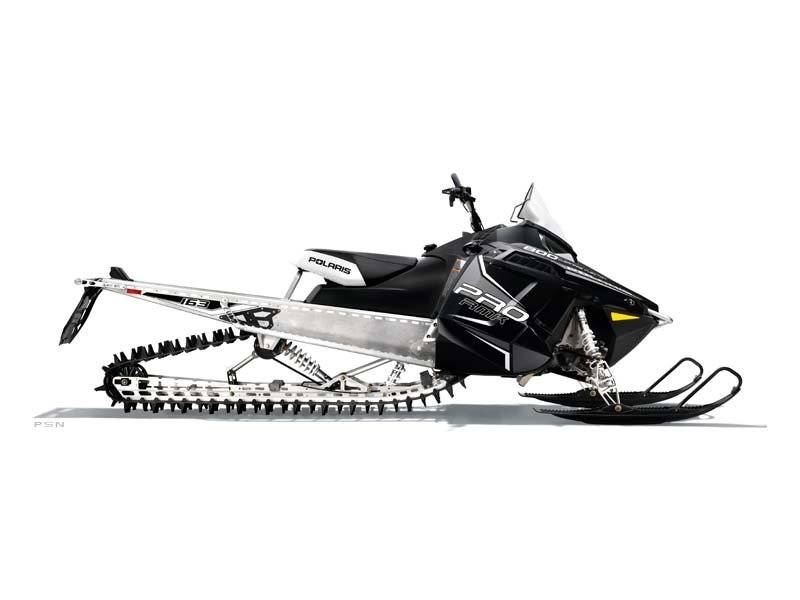 2013 Polaris 800 PRO-RMK® 163 SC White in Algona, Iowa - Photo 1
