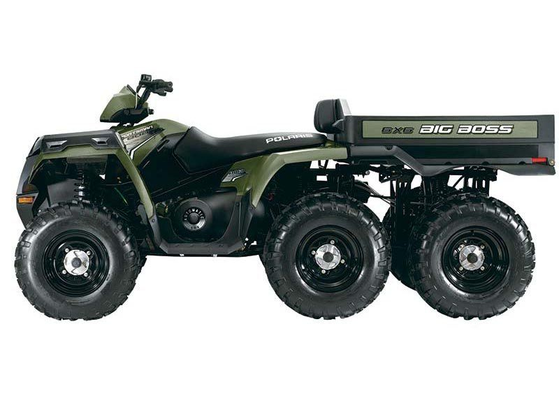 2014 Polaris Sportsman® Big Boss® 6x6 800 EFI in Jackson, Minnesota