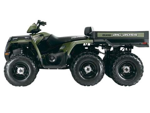 2014 Polaris Sportsman® Big Boss® 6x6 800 EFI in Dickinson, North Dakota