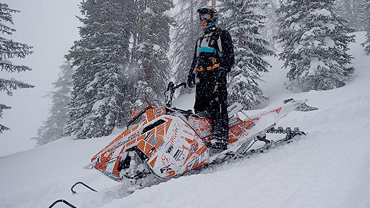 2015 Polaris 600 Pro-RMK® 155 ES in Jackson, Minnesota