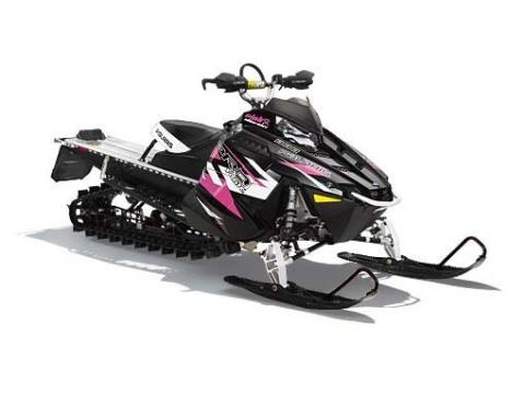 2015 Polaris 600 PRO-RMK® 155 LE Pink Ribbon Rider in Lake Mills, Iowa