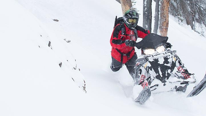 2015 Polaris 800 Pro-RMK® 155 ES in Jackson, Minnesota