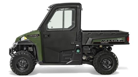 2015 Polaris Ranger® Diesel HST Deluxe in Woodstock, Illinois