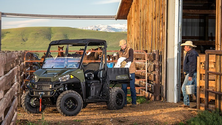 2015 Polaris Ranger® ETX in Pierceton, Indiana