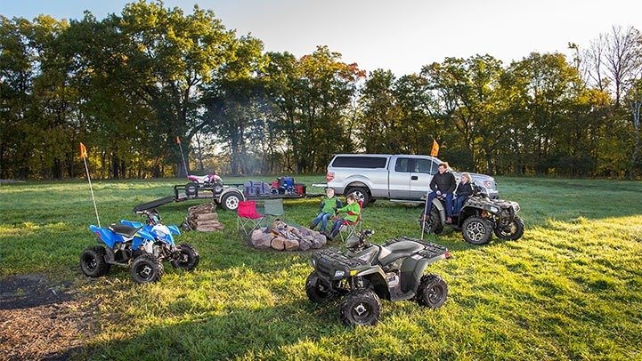 2016 Polaris Outlaw 110 EFI in Algona, Iowa - Photo 4
