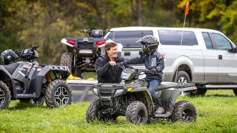 2016 Polaris Outlaw 110 EFI in Yuba City, California