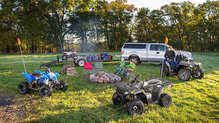 2016 Polaris Outlaw 110 EFI in Lake Mills, Iowa - Photo 4