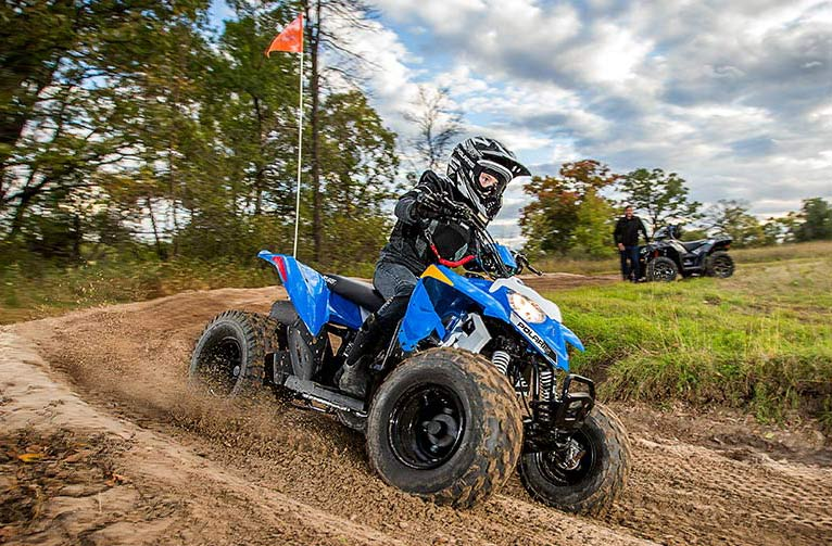 2016 Polaris Outlaw 110 EFI in Lake Mills, Iowa - Photo 3