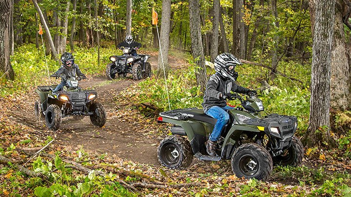 2016 Polaris Outlaw 110 EFI in Lake Mills, Iowa - Photo 5