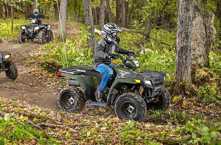2016 Polaris Sportsman 110 EFI in Lake Mills, Iowa - Photo 5