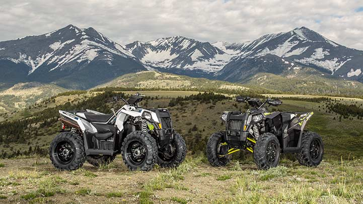 2016 Polaris Scrambler 850 in Woodstock, Illinois
