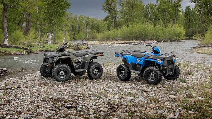 2016 Polaris Sportsman 450 H.O. in Elkhart, Indiana