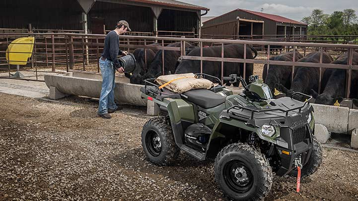 2016 Polaris Sportsman 450 H.O. in Norfolk, Virginia