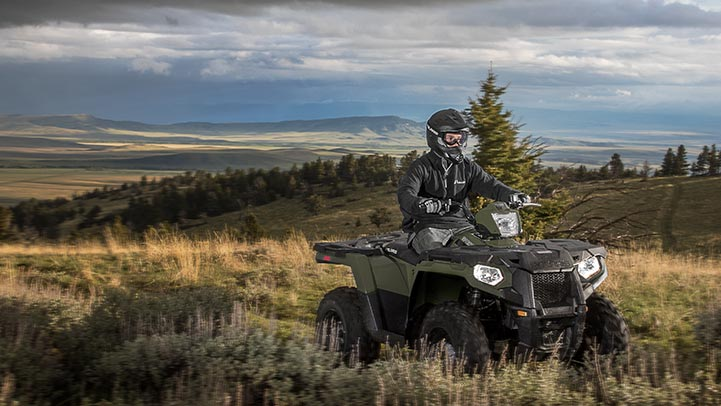 2016 Polaris Sportsman 450 H.O. EPS in Shawano, Wisconsin