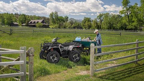2016 Polaris Sportsman 570 SP in Lake Mills, Iowa - Photo 5