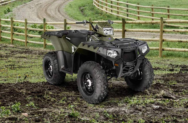 2016 Polaris Sportsman 850 in Woodstock, Illinois