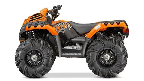 2016 Polaris Sportsman 850 High Lifter Edition in Lake Mills, Iowa