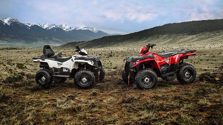 2016 Polaris Sportsman Touring 570 in Lake Mills, Iowa - Photo 3