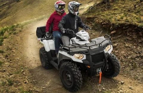 2016 Polaris Sportsman Touring 570 EPS in Lake Mills, Iowa - Photo 3