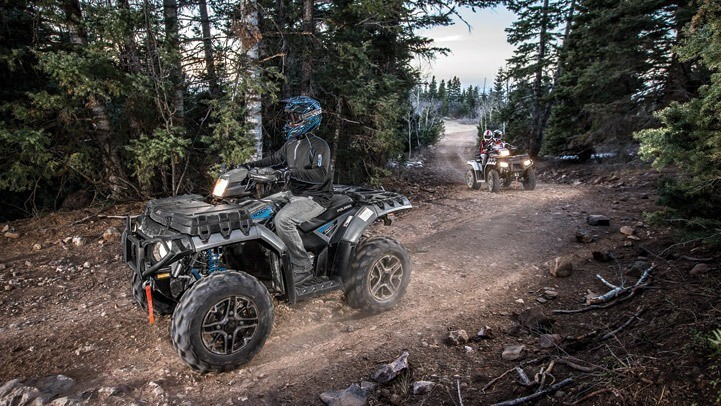 2016 Polaris Sportsman Touring XP 1000 in Lake Mills, Iowa - Photo 6