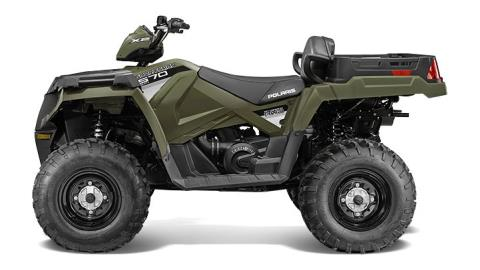 2016 Polaris Sportsman X2 570 EPS in Lake Mills, Iowa
