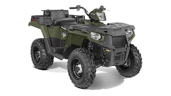 2016 Polaris Sportsman X2 570 EPS in Lake Mills, Iowa - Photo 2