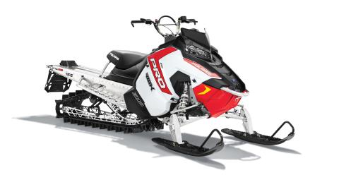 2016 Polaris 600 PRO-RMK 155 ES in Algona, Iowa