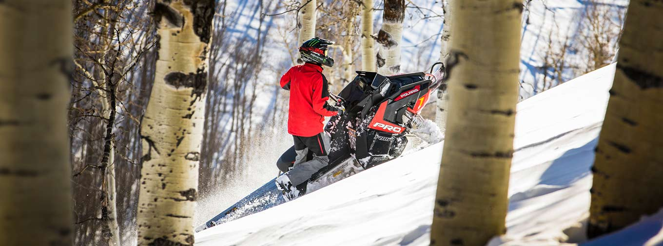 2016 Polaris 800 Pro-RMK 155 SnowCheck Select in Shawano, Wisconsin